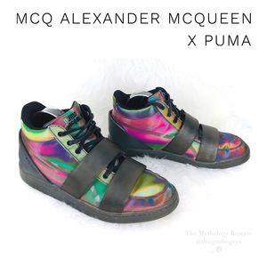 McQ Alexander McQueen Puma Serve Mid Sneakers
